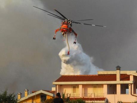 Hà Nội có máy bay trực thăng chữa cháy