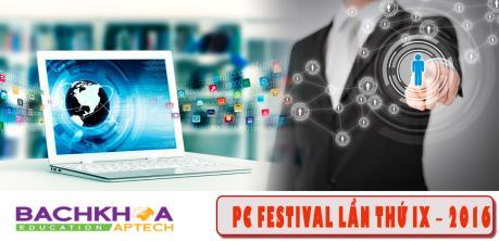 Sắp tổ chức PC Festival 2016 - Hội thi máy tính lớn nhất Hà Nội