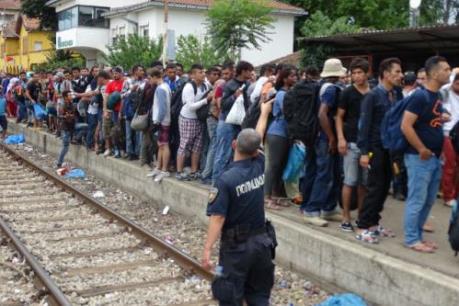 Vấn đề người di cư: Các nước Đông Nam Âu thiết lập điểm tiếp nhận chung