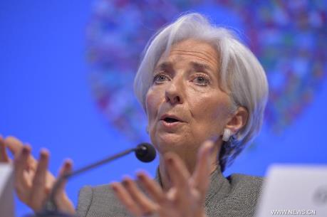 Bà Christine Lagarde được bầu lại làm Tổng Giám đốc điều hành IMF