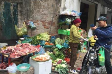 """Giá thực phẩm, rau xanh dịp Lễ Rằm tháng giêng """"giảm nhiệt"""""""