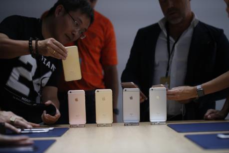 iPhone lần đầu tiên giảm tại thị trường Nhật Bản