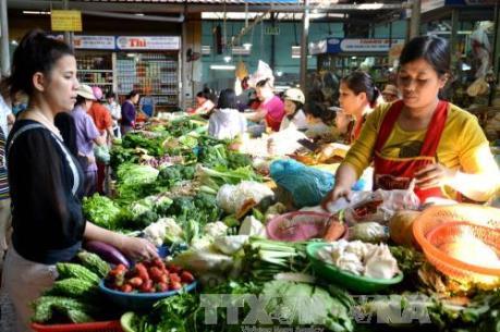 Sôi động thị trường Đà Nẵng ngày rằm tháng Giêng