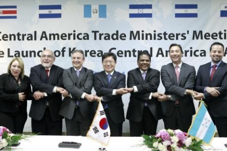 Hàn Quốc đàm phán vòng FTA thứ 3 với nhóm các quốc gia Trung Mỹ