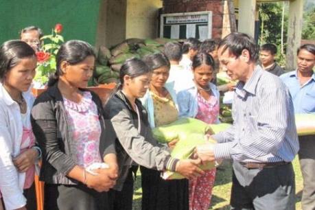 Hơn 1 triệu lượt người nghèo được hỗ trợ gạo trong dịp Tết