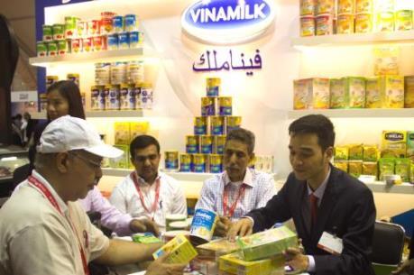 Hội chợ Gulfood 2016: Vinamilk ký được hợp đồng hàng chục triệu USD