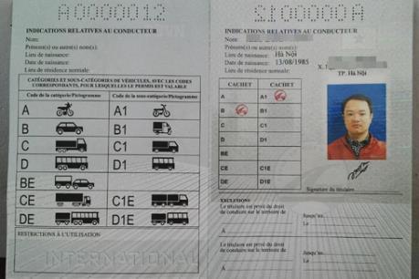 Hướng dẫn đăng ký cấp giấy phép lái xe quốc tế tại TP.HCM
