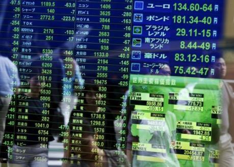 Chứng khoán châu Á kết thúc tuần tăng điểm