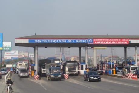 Dừng thu phí, mở cổng để phương tiện lưu thông khi trạm thu phí ùn tắc trên 1km
