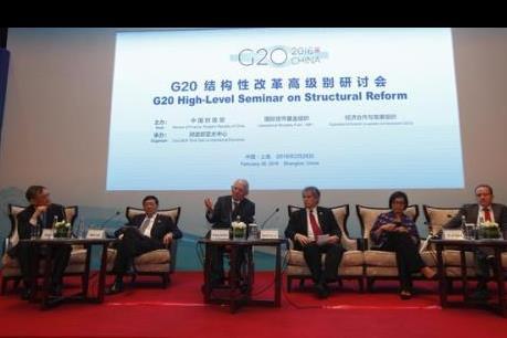 Các lãnh đạo tài chính nhóm G20 thúc đẩy phối hợp chính sách