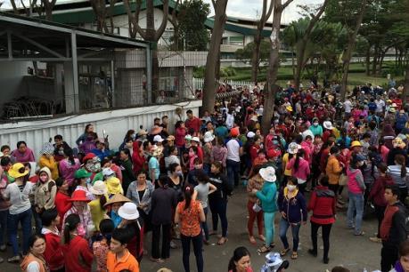 Toàn bộ công nhân Công ty Pouchen Việt Nam đã trở lại làm việc