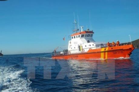 Đà Nẵng: Cấp cứu thuyền viên bị nạn trên biển