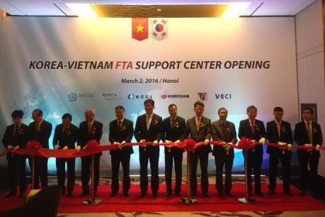 Khánh thành Trung tâm hỗ trợ FTA Hàn – Việt