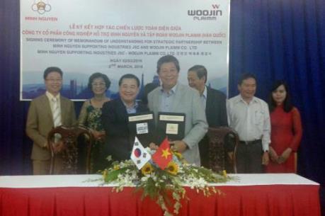 Doanh nghiệp Việt - Hàn hợp tác phát triển công nghiệp hỗ trợ công nghệ cao
