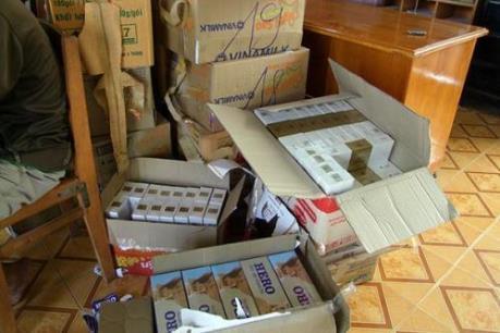 TP Hồ Chí Minh triệt phá đường dây buôn bán thuốc lá lậu