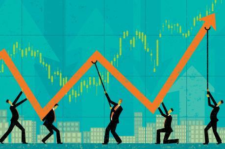 Cổ phiếu dầu khí giữ nhịp thị trường, hai sàn cùng tăng