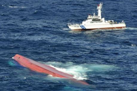 Hàn Quốc huy động lực lượng lớn tìm kiếm 6 thuyền viên Việt Nam mất tích
