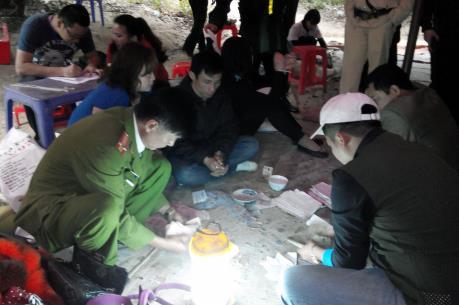 Quảng Ninh triệt phá tụ điểm đánh bạc quy mô lớn