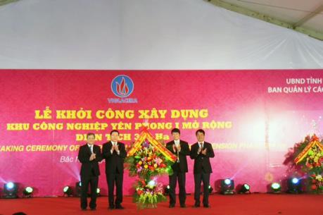 Đầu tư 3.000 tỷ đồng mở rộng Khu công nghiệp kiểu mẫu Yên Phong I