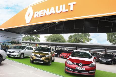 Renault Việt Nam trình làng 3 mẫu xe nhập khẩu tại Hà Nội