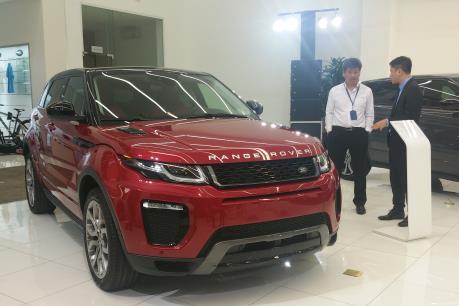 Ra mắt xe Range Rover Evoque 2016 với nhiều cải tiến