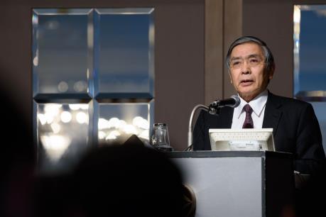 Thống đốc BoJ vẫn lạc quan về triển vọng kinh tế Nhật Bản