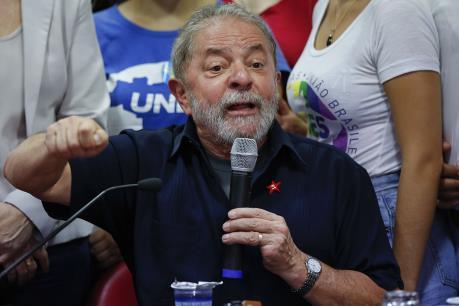 Tòa án Brazil ra lệnh tạm giam cựu Tổng thống Lula da Silva