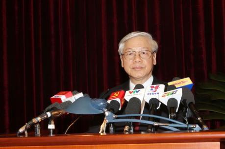 Phát biểu bế mạc Hội nghị Trung ương 2 của Tổng Bí thư Nguyễn Phú Trọng