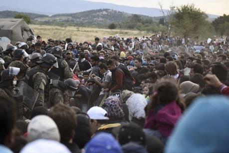 Khủng hoảng di cư: LHQ cảnh báo tình trạng cùng cực tại biên giới Hy Lạp- Macedonia