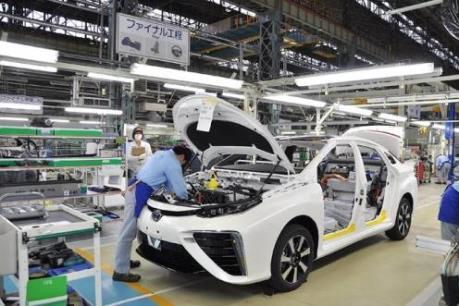 Lượng đơn đặt hàng máy móc cơ bản ở Nhật Bản trong tháng Một tăng