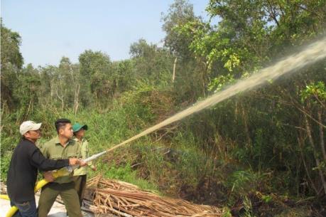 Dồn sức phòng chống cháy rừng tràm U Minh Hạ