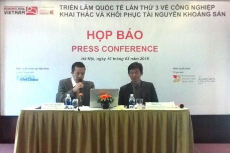 MINING VIETNAM 2016 sắp diễn ra tại Hà Nội