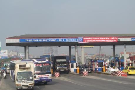 Đồng loạt tăng phí Quốc lộ 5 và cao tốc Hà Nội - Hải Phòng