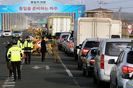 Các công ty Hàn Quốc biểu tình đòi bồi thường sau khi KCN Kaesong đóng cửa
