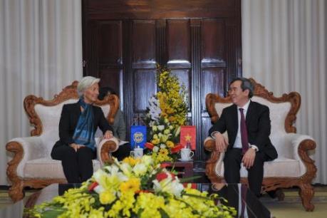 Tổng Giám đốc IMF đánh giá cao định hướng chính sách của Việt Nam