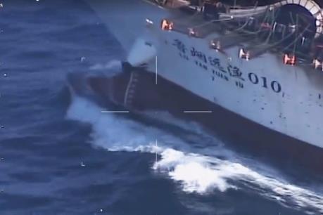 Argentina bắn chìm tàu đánh cá Trung Quốc xâm nhập trái phép
