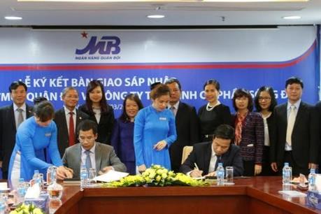 Ngân hàng Quân đội chính thức tiếp quản Công ty Tài chính cổ phần Sông Đà