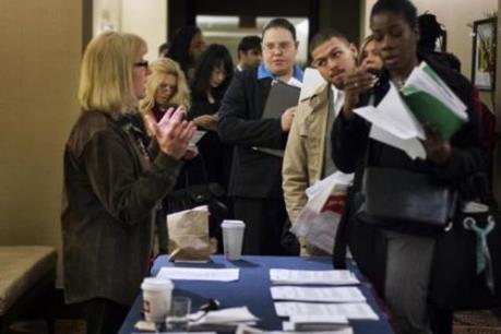 Mỹ: Số đơn xin trợ cấp thất nghiệp tăng