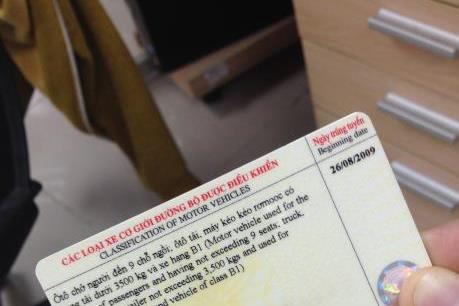 Từ 4/7, Hà Nội cấp đổi giấy phép lái xe tại trụ sở cơ quan, đơn vị