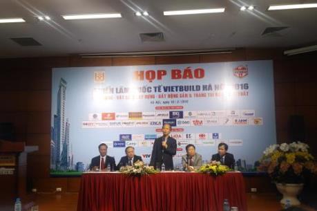 Gần 450 doanh nghiệp tham gia Vietbuild Hà Nội 2016