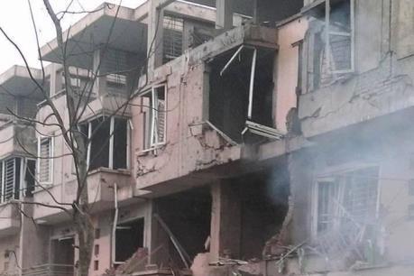 Nổ lớn ở Khu đô thị Văn Phú - Hà Đông khiến 4 người thiệt mạng