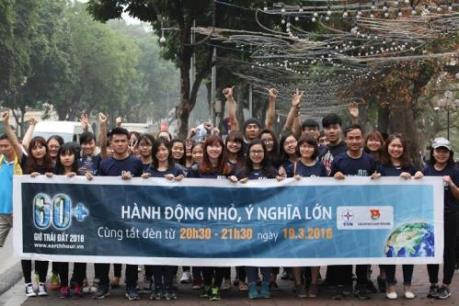 Đoàn Khối Doanh nghiệp Trung ương hưởng ứng Chiến dịch Giờ trái đất