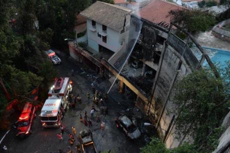 Tai nạn máy bay nghiêm trọng tại Brazil