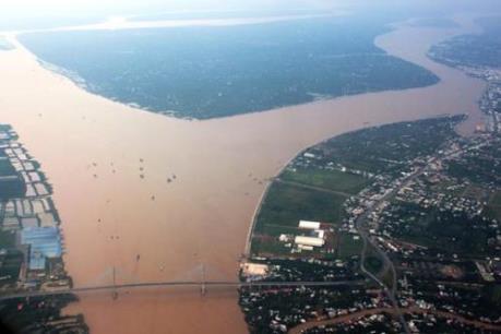 Mực nước sông Mê Công vùng Đông Bắc Thái Lan tăng mạnh