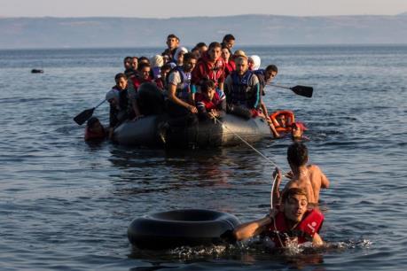 Vấn đề người di cư: Dòng người từ Thổ Nhĩ Kỳ vẫn không ngừng đổ về Hy Lạp