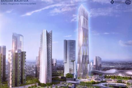 Trung Quốc đầu tư 2 tỷ USD xây dựng trung tâm khu vực ở Malaysia