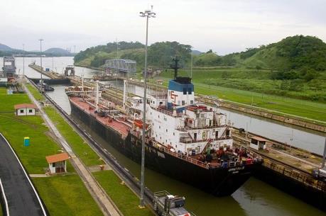 Kênh đào Panama hạn chế tàu qua lại do ảnh hưởng của El Nino