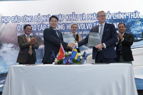 Xe Volvo sắp có mặt tại Việt Nam