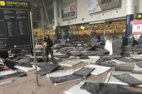 Vụ nổ ở sân bay Brussels: Con số thương vong lên tới 40 người