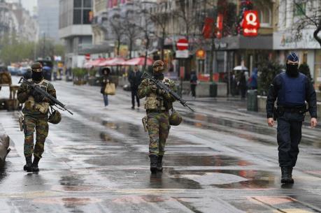 Đánh bom khủng bố tại Bỉ: Brussels duy trì cảnh báo khủng bố ở mức cao nhất
